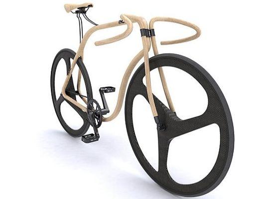 Thonet Beech Wood Bicycle